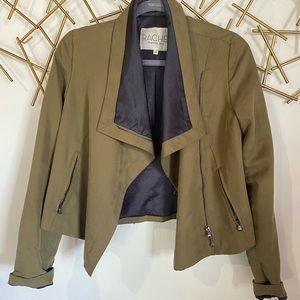 RACHEL Rachel Roy olive green women's jacket sz 0